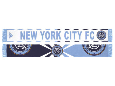 New York City FC adidas Jacquard Wordmark Scarf