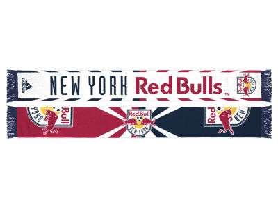 New York Red Bulls Jacquard Wordmark Scarf