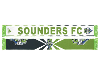 Seattle Sounders FC Jacquard Wordmark Scarf