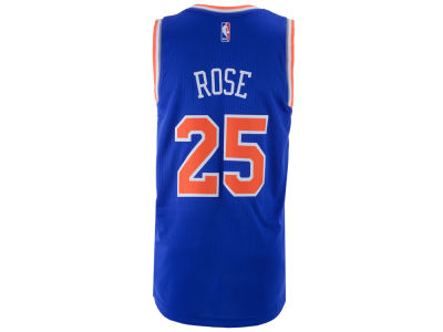 New York Knicks Derrick Rose adidas NBA Men's New Swingman Jersey