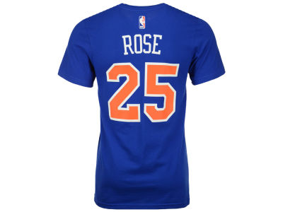 New York Knicks Derrick Rose adidas NBA Men's Player T-Shirt