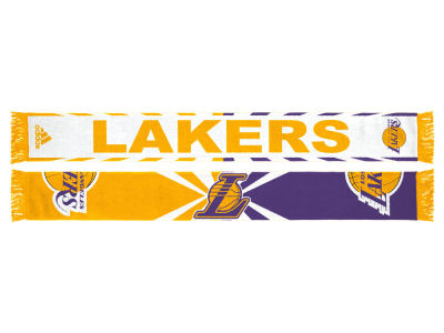 Los Angeles Lakers Jacquard Wordmark Scarf
