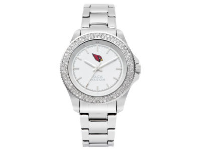 Arizona Cardinals Jack Mason Ladies Glitz Sport Bracelet Watch