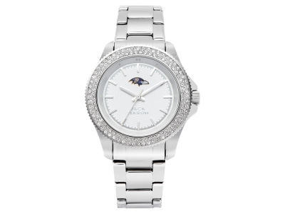 Baltimore Ravens Jack Mason Ladies Glitz Sport Bracelet Watch