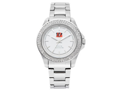 Cincinnati Bengals Ladies Glitz Sport Bracelet Watch