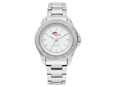 Denver Broncos Ladies Glitz Sport Bracelet Watch