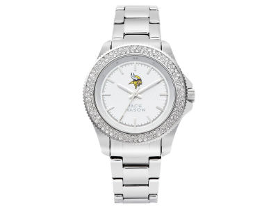 Minnesota Vikings Jack Mason Ladies Glitz Sport Bracelet Watch