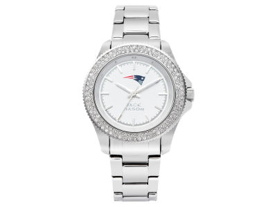 New England Patriots Ladies Glitz Sport Bracelet Watch
