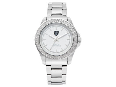 Oakland Raiders Ladies Glitz Sport Bracelet Watch
