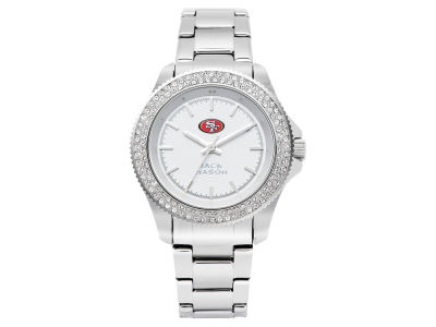 San Francisco 49ers Jack Mason Ladies Glitz Sport Bracelet Watch