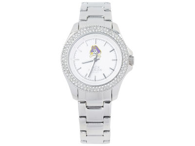 East Carolina Pirates Jack Mason Ladies Glitz Sport Bracelet Watch