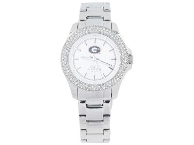 Georgia Bulldogs Ladies Glitz Sport Bracelet Watch