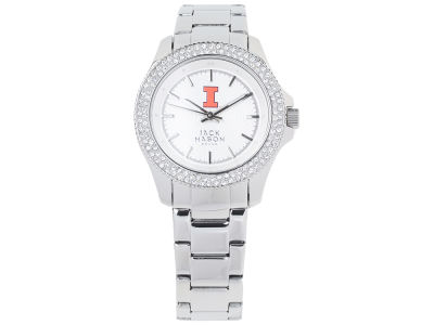 Illinois Fighting Illini Ladies Glitz Sport Bracelet Watch