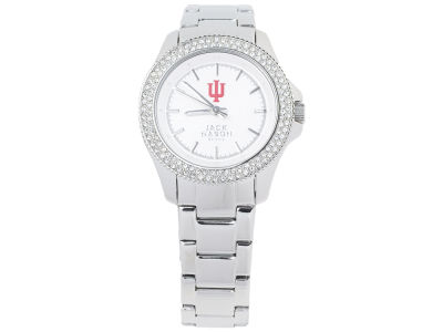 Indiana Hoosiers Ladies Glitz Sport Bracelet Watch