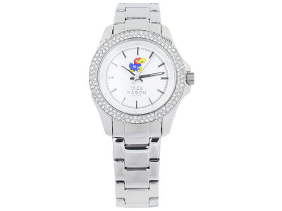 Kansas Jayhawks Jack Mason Ladies Glitz Sport Bracelet Watch
