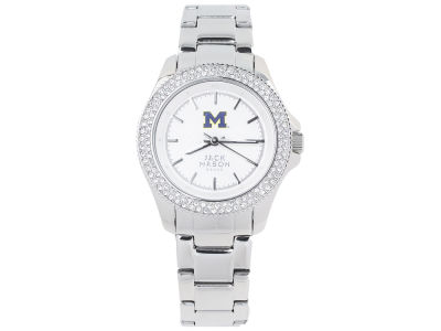 Michigan Wolverines Jack Mason Ladies Glitz Sport Bracelet Watch