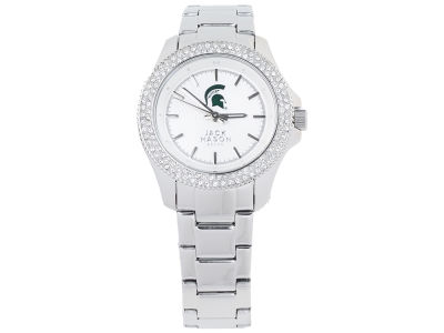 Michigan State Spartans Jack Mason Ladies Glitz Sport Bracelet Watch