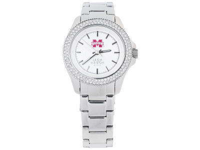 Mississippi State Bulldogs Jack Mason Ladies Glitz Sport Bracelet Watch