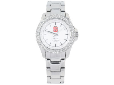 North Carolina State Wolfpack Jack Mason Ladies Glitz Sport Bracelet Watch