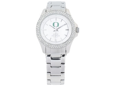 Oregon Ducks Ladies Glitz Sport Bracelet Watch