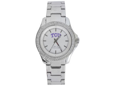 Texas Christian Horned Frogs Jack Mason Ladies Glitz Sport Bracelet Watch