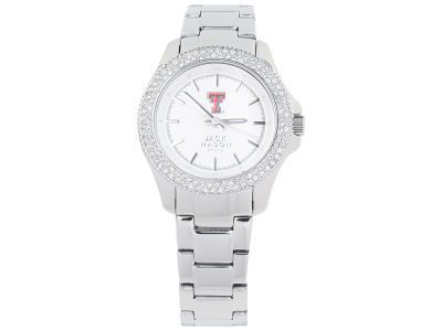 Texas Tech Red Raiders Jack Mason Ladies Glitz Sport Bracelet Watch