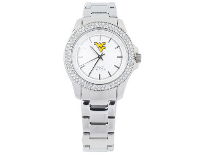 West Virginia Mountaineers Jack Mason Ladies Glitz Sport Bracelet Watch