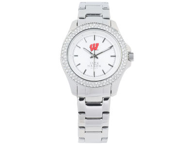 Wisconsin Badgers Jack Mason Ladies Glitz Sport Bracelet Watch
