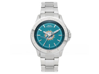 Miami Dolphins Ladies Color Sport Bracelet Watch