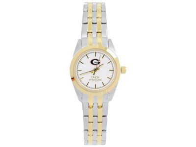 Georgia Bulldogs Two Tone Ladies Watch