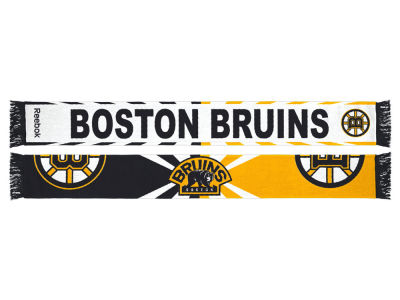 Boston Bruins Jacquard Wordmark Scarf