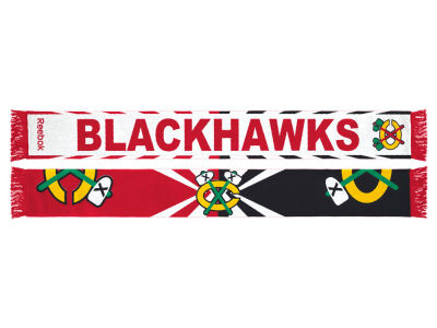 Chicago Blackhawks adidas Jacquard Wordmark Scarf