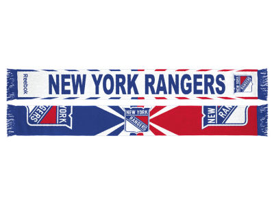 New York Rangers Jacquard Wordmark Scarf