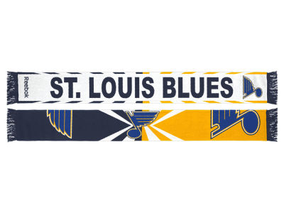 St. Louis Blues adidas Jacquard Wordmark Scarf
