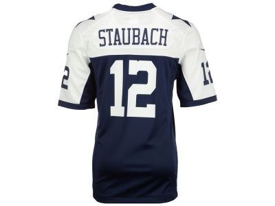 Dallas Cowboys Roger Staubach NFL Retired Game Jersey