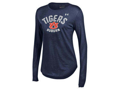 Auburn Tigers Under Armour NCAA Womens 60/40 Long Sleeve T-Shirt
