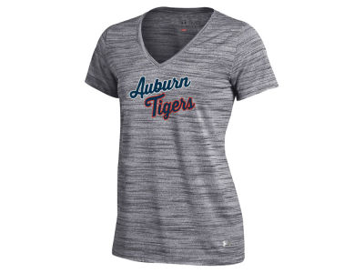 Auburn Tigers Under Armour NCAA Women's Tech V-Neck T-Shirt