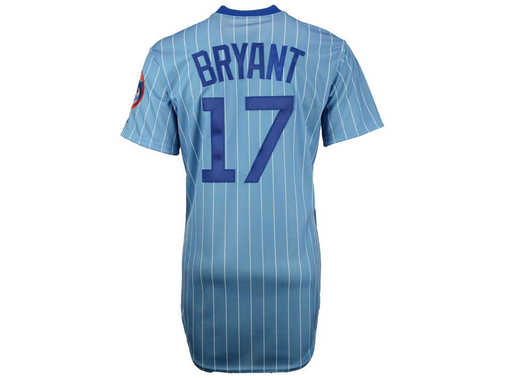12b58e7a8 Chicago Cubs Kris Bryant Majestic MLB Men s Turn Back The Clock Cooperstown  Flexbase On Field Jersey