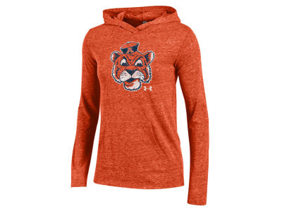 Auburn Tigers Under Armour NCAA Women's Hooded Long Sleeve T-Shirt