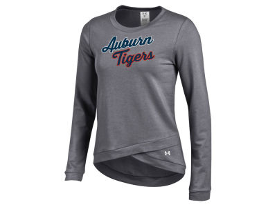 Auburn Tigers Under Armour NCAA Women's Crossover Crew Sweatshirt