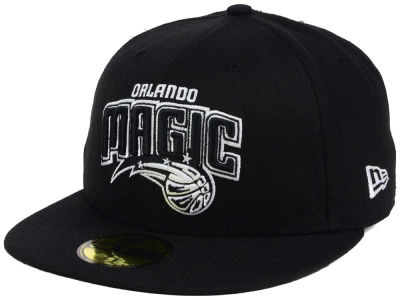 Orlando Magic New Era NBA Black White 59FIFTY Cap