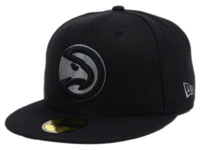 Atlanta Hawks New Era NBA Black Graph 59FIFTY Cap