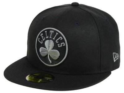 Boston Celtics New Era NBA Black Graph 59FIFTY Cap