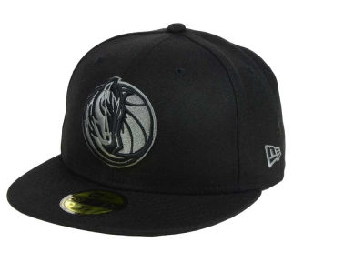 Dallas Mavericks New Era NBA Black Graph 59FIFTY Cap
