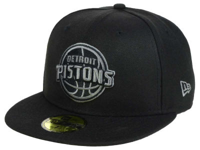 Detroit Pistons New Era NBA Black Graph 59FIFTY Cap