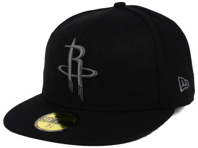 Houston Rockets New Era NBA Black Graph 59FIFTY Cap
