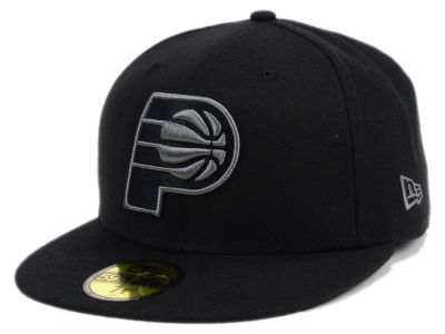 Indiana Pacers New Era NBA Black Graph 59FIFTY Cap