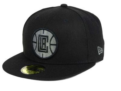 Los Angeles Clippers New Era NBA Black Graph 59FIFTY Cap