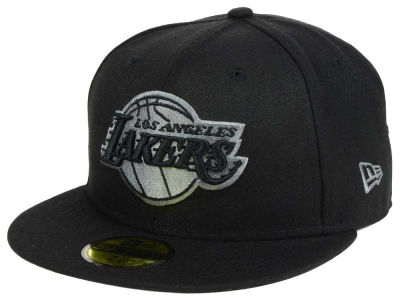 Los Angeles Lakers New Era NBA Black Graph 59FIFTY Cap