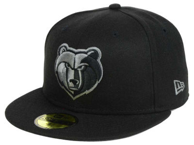 Memphis Grizzlies New Era NBA Black Graph 59FIFTY Cap